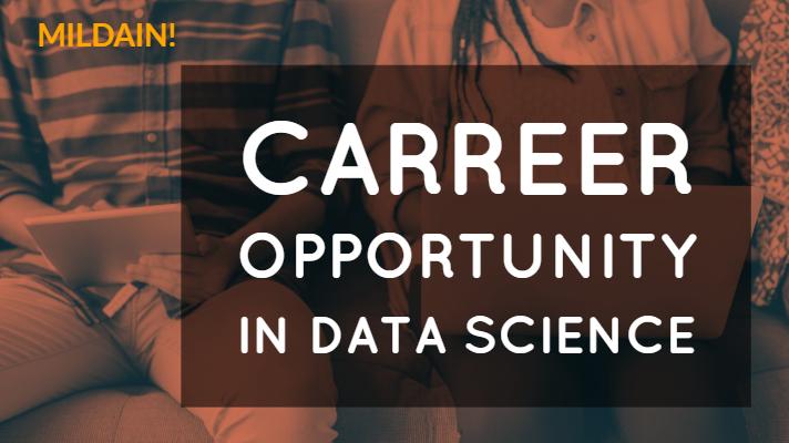 Career Opportunity in Data Science:Boom Vacancy