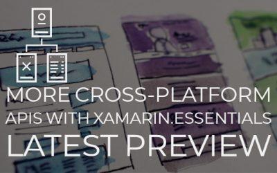 Cross Platform Apis Xamarin Essentials Latest Preview