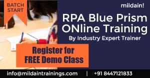 RPA Blue Prism Interview Question