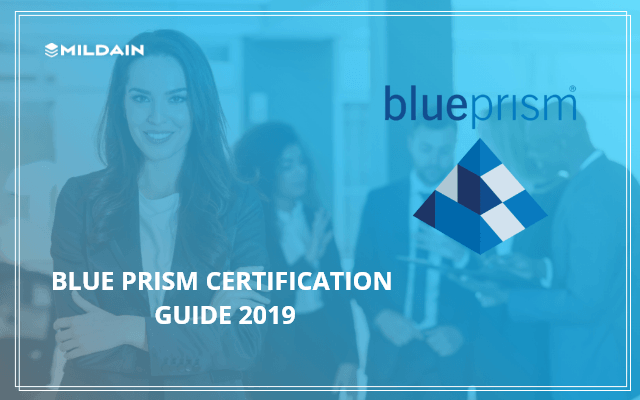 Blue Prism Certification Guide 2019