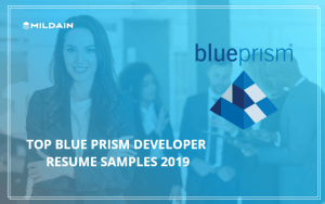 Blue Prism Resume Sample