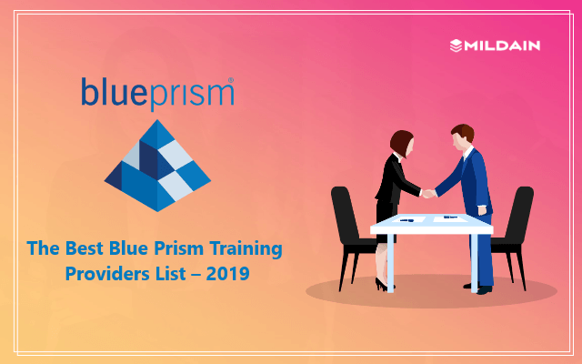 The Best Blue Prism Training Providers List – 2019