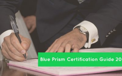 Blue Prism Certification Guide 2018