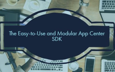 The Easy-to-Use and Modular App Center SDK