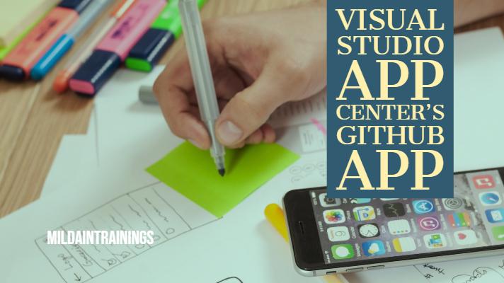 Visual Studio App Center's GitHub App