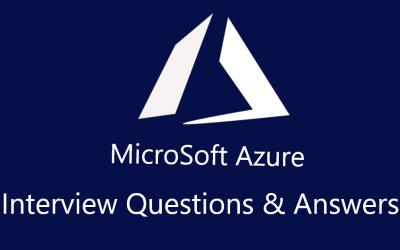 Azure Interview Questions ?