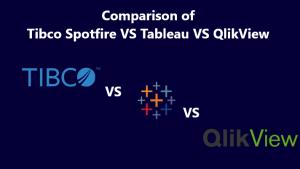 Comparison of Tibco Spotfire Vs.Qlikview Vs. Tableau