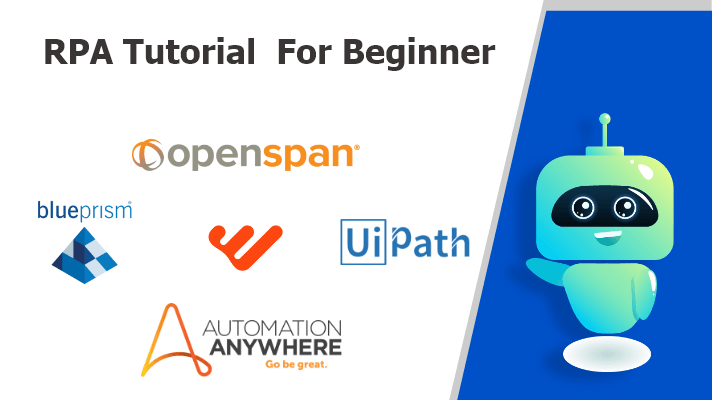 RPA Tutorials For Beginners