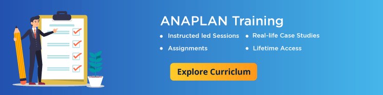 Anaplan training by Mildaintrainings