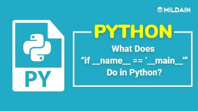 "What Does if __name__ equals ""__main__"" Do in Python?"