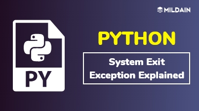 Python SystemExit Exception Explained